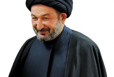 الأمين العام للعتبة العلوية المقدسة السيد نزار حبل المتين يدخل ايوان مجلة الولاية