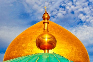 القبة العلوية القٌ ذهبي يعود بريقه