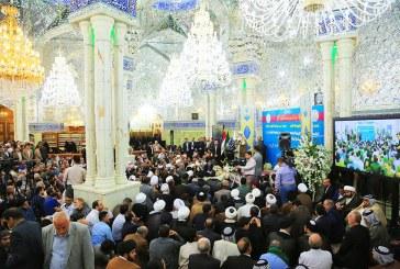 افتتاح جزء الزيارة والعبادة في  صحن فاطمة عليها السلام