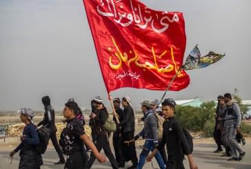 الشباب والمشي الى الامام الحسين عليه السلام